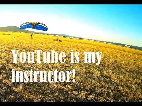 Zach tries to learn to fly from Youtube after buying his paramotor online.