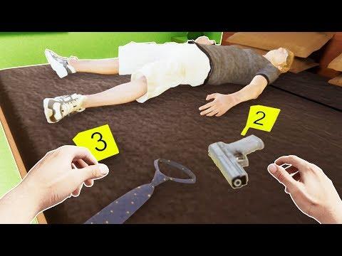 Becoming a Police Crime Scene Investigator in VR  CSI VR Gameplay