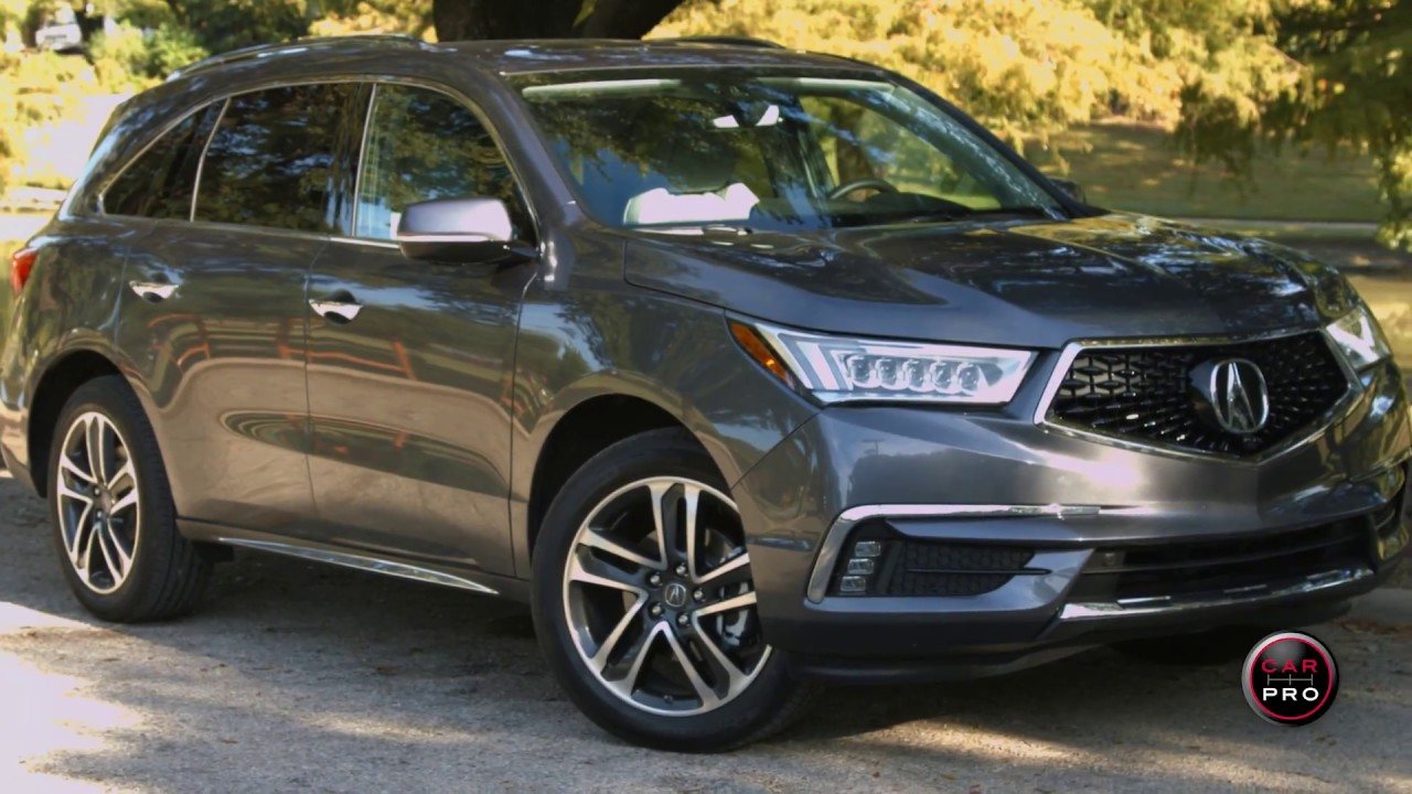 2017 Acura Mdx Test Drive And Review