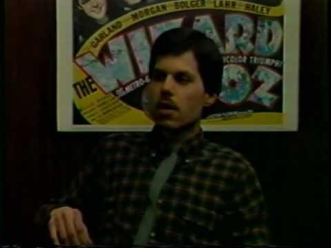 Front Row Center, 1988, Brian Adams interviews Jim Davidson, Perry Mason fan club president