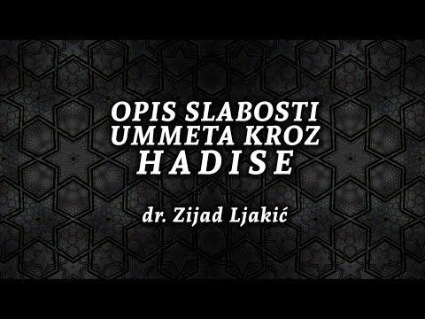 OPIS SLABOSTI UMMETA KROZ HADISE - dr. Zijad Ljakić