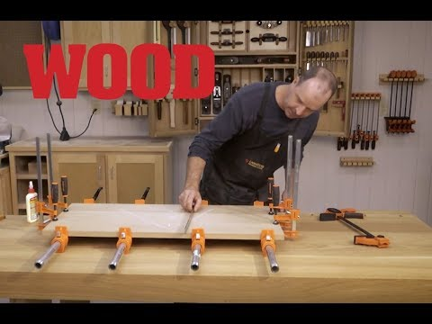 How To Glue Up Flat Panels - WOOD magazine