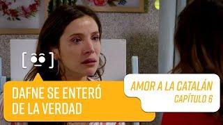 Dafne María se enteró que Fernando no es su padre   Amor a la Catalán