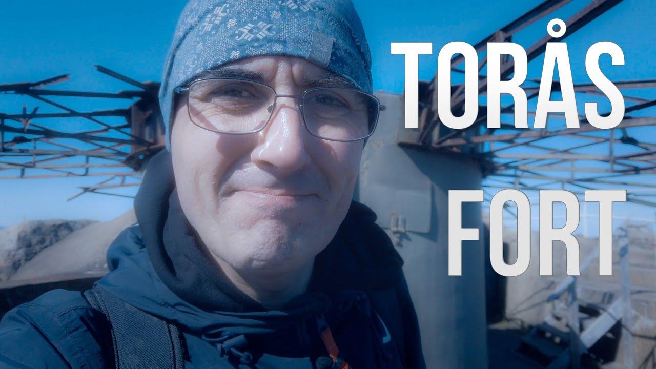 Videoblogg fra Torås fort på Tjøme