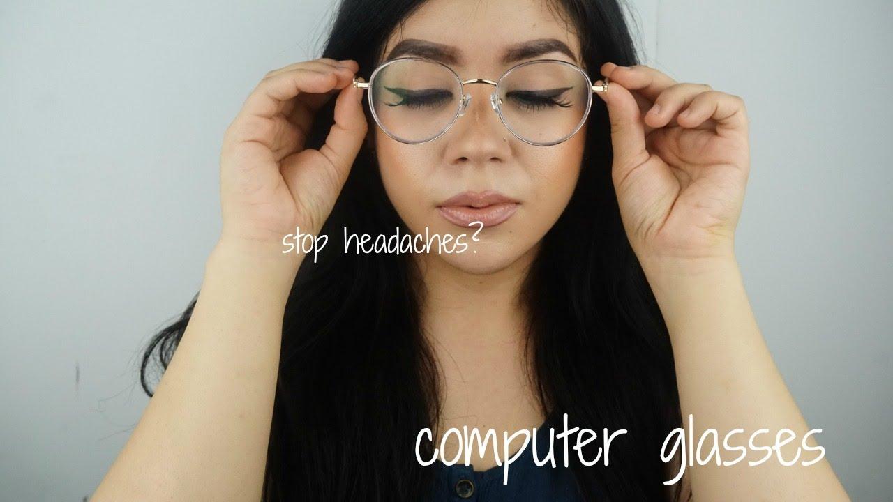 73e39991c16e Firmoo Glasses with Blue Light Blocking Lens Stop Headaches - YouTube