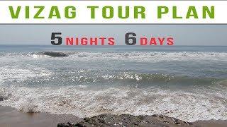 Vizag Tour Plan | 5 Nights 6 Days Vizag Tour
