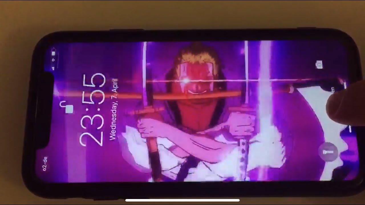 One Piece Zoro Purgatory Onigiri Live Wallpaper For Ios Youtube