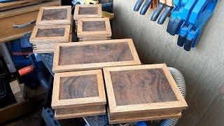 Деревянные коробочки, Новый год и капуста