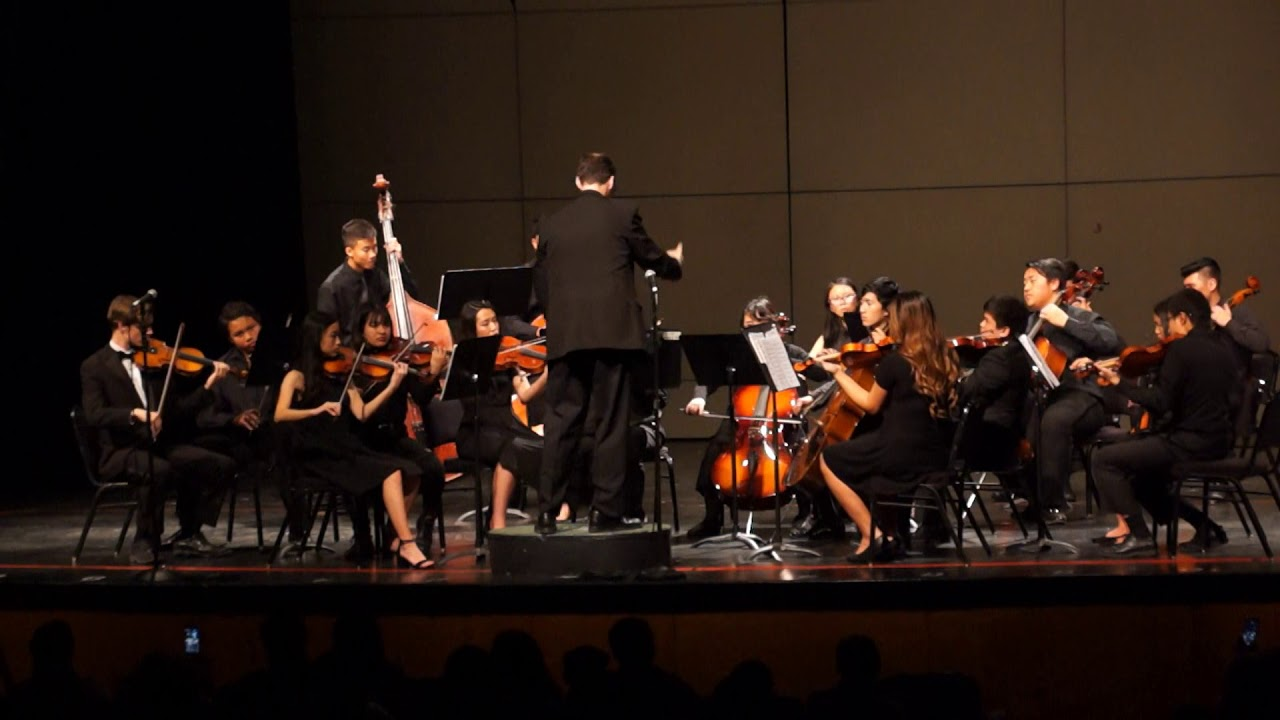 High School Honor Orchestra Garden Grove Unified School District ...