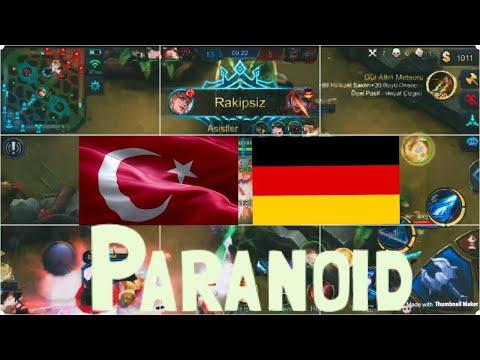 TÜRKİYE vs ALMANYA ULUSAL ARENA MAÇI  Mr Paranoid  Mobile Legends