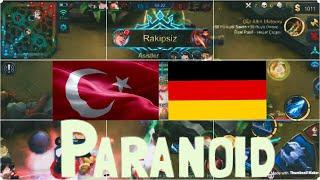 TÜRKİYE vs ALMANYA ULUSAL ARENA MAÇI | Mr. Paranoid | Mobile Legends