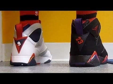 Air Jordan Olympic 7 VS Raptor VII Sneakers W   DjDelz  PickOne Sneaker  Battle - YouTube dbecda65a3