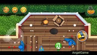 Robbery Bob - Bonus Chapter (Challenge) Level 3 Gameplay Video
