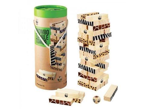 Настольная игра Падающая башня МИОМБО ( Дженго ) Miombo tumble tower (Jenga )