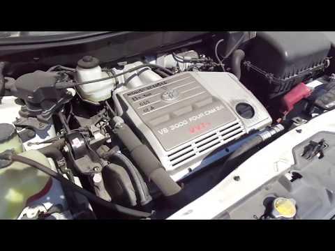 Работа двигателя 1MZ Toyota Harrier Lexus RX300