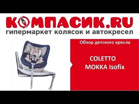 Вся правда о автокресле Coletto Mokka. Обзор от Компасик.Ру