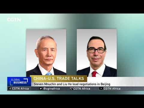 Steven Mnuchin and Liu He lead China-US trade negotiations in Beijing
