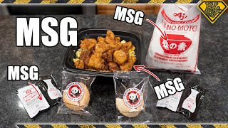 Deep Frying Food In Pure MSG