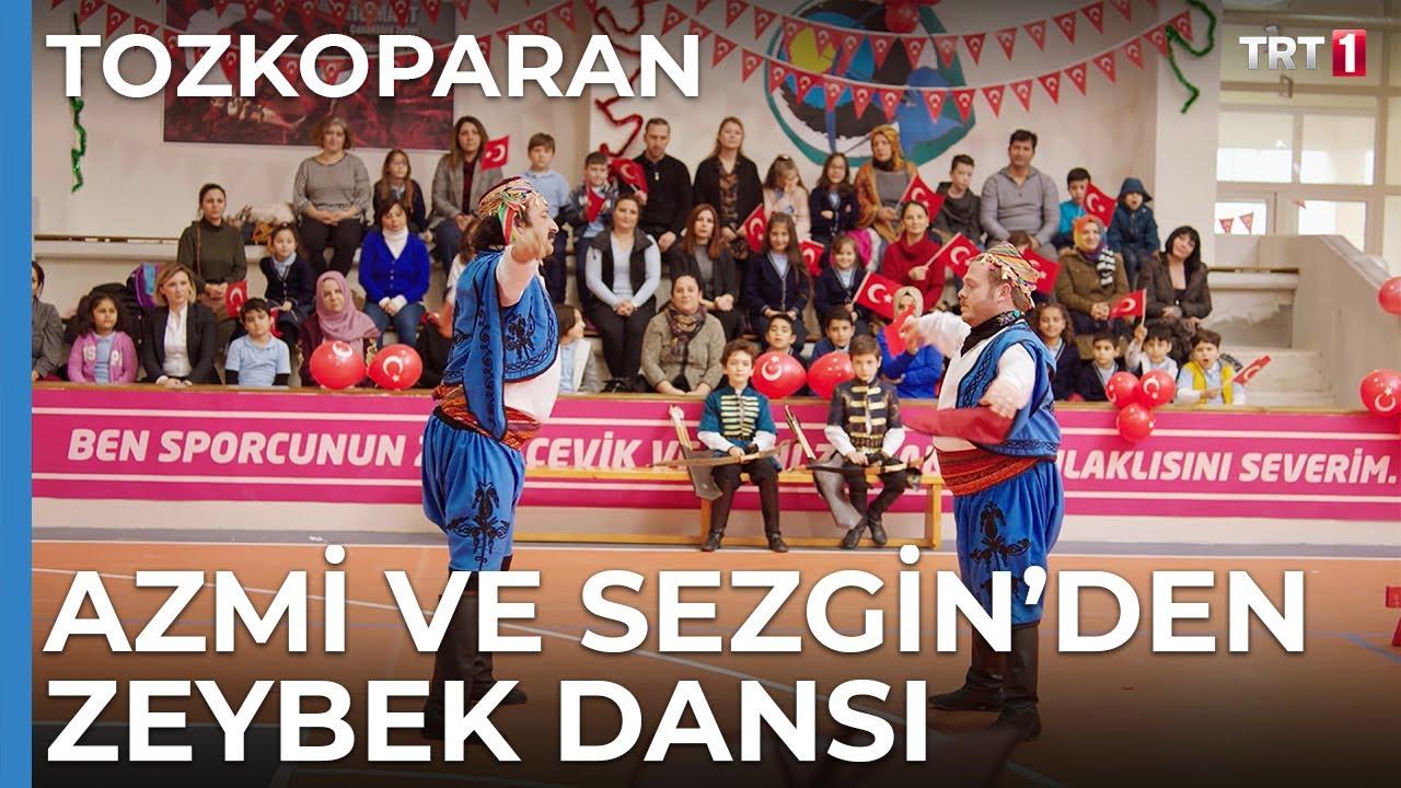 Azmi ve Sezgin'den Muhteşem Zeybek Dansı - Tozkoparan 18. Bölüm
