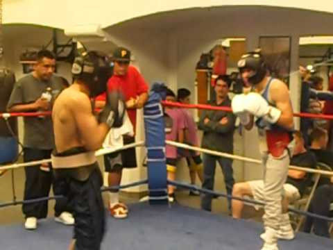 La habra Boxing Club.. ☆kikin☆...sparring