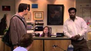 The Office: Nick the IT guy is mad