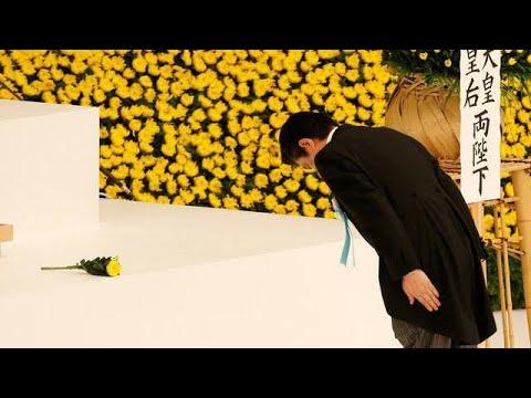 Japan commemorates WWII surrender