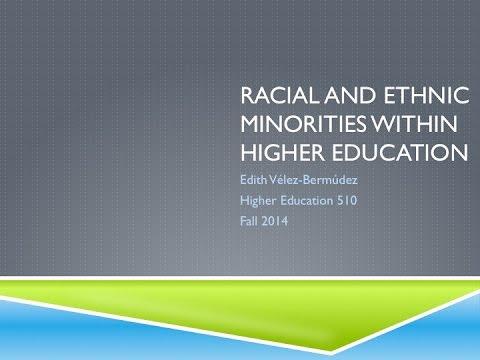 Ethnic/Racial Minorities in Higher Education