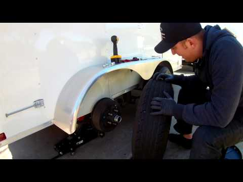 How to PLUG a trailer tire - Project Video
