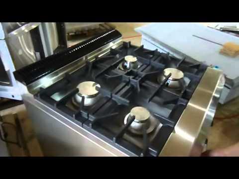 Commercial Gas Range With 4 Burner Amp Oven 4 Burner