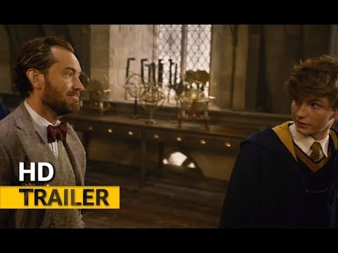 fantastic beasts the crimes of grindelwald 2018 official comic con trailer youtube. Black Bedroom Furniture Sets. Home Design Ideas