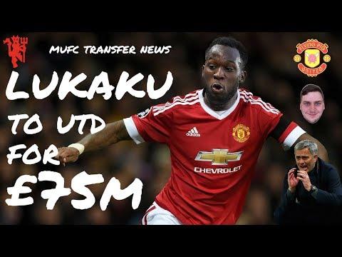 Everton accept £75 million bid for Romelu Lukaku from Manchester United