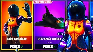 "NEW ""DARK VANGUARD"" SKIN! - DARK VANGUARD SKIN GAMEPLAY in Fortnite! (Fortnite: Battle Royale)"