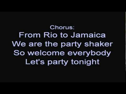 R.I.O. feat. Nicco - Party Shaker [ Lyrics ]
