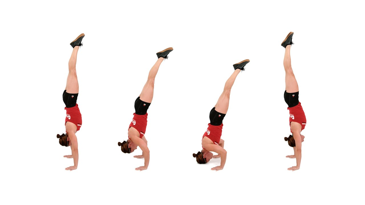 The Freestanding Handstand Push-Up - YouTube