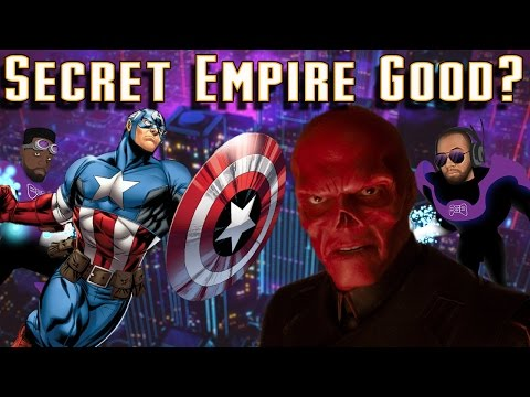 Secret Empire #0 Review: Hail Hydra | Captain America is Hydra?! Marvel Comics' Message