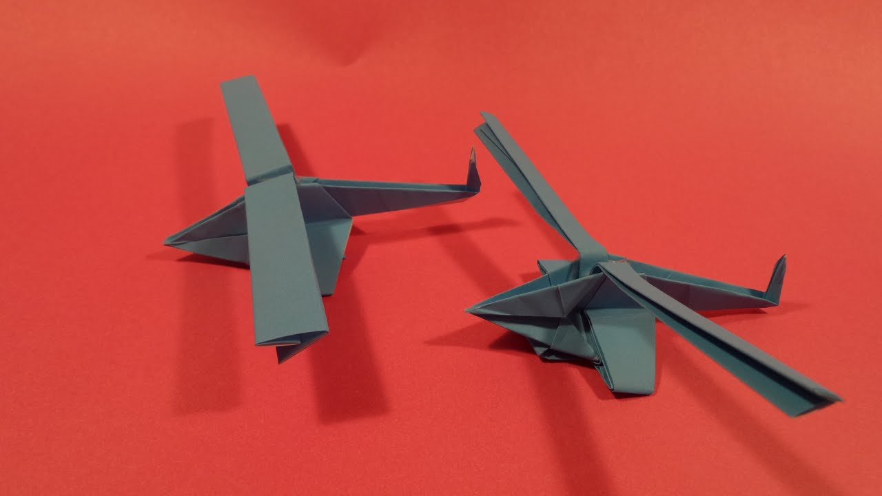 origami helicopter that flies 28 images paper