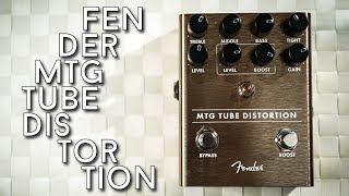 Bruce's magic is inside this one! Fender MTG Tube Distortion Review