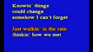karaoke - Johnnie Ray   Just Walkin