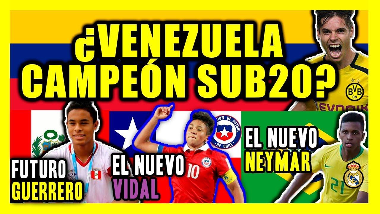 Sudamericano Sub 20 2019: PREDICCION SUDAMERICANO SUB 20