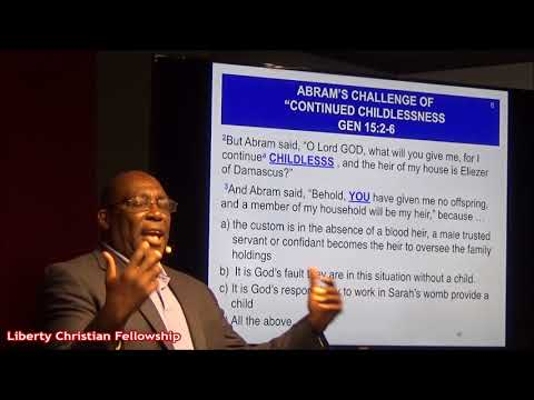 God's Unconditional Covenant with Abram Shows How He Secures Salvation, with Pastor Earl 10-8-17