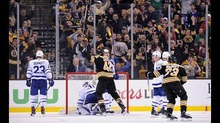 Bruins vs Maple Leafs - Bruins Fan Review - Game 1, Round 1, 2018 Stanley Cup Playoffs!!!