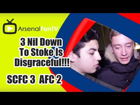 3 Nil Down To Stoke Is Disgraceful!!! - Stoke City 3 Arsenal 2