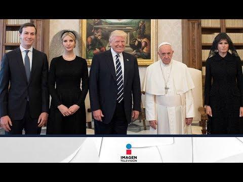 Los memes de Donald Trump con el Papa Francisco | Noticias con Ciro Gómez Leyva