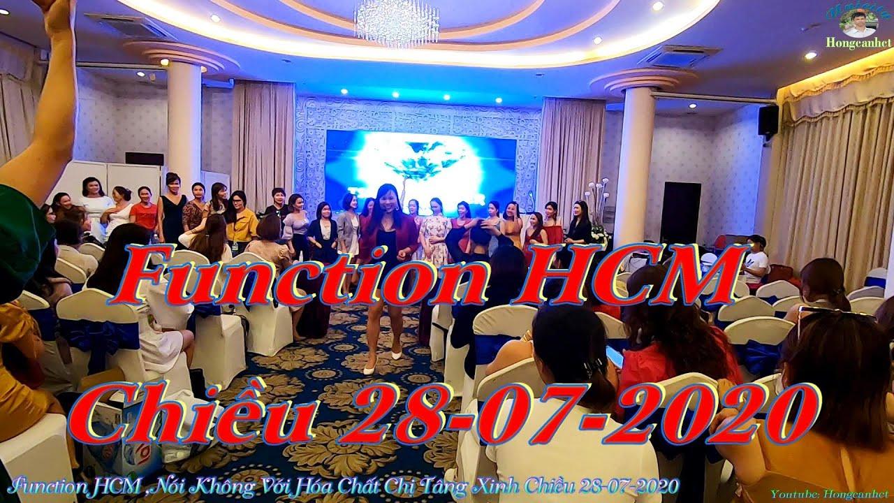 Function HCM _Nói Không Với Hóa Chất Chị Tâng Xinh Chiều 28-07-2020