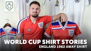 World Cup Shirt Stories: England 1982 Away