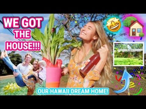 THE BEST NEWS - WE GOT OUR HAWAII DREAM HOME!! WE'RE MOVING!!