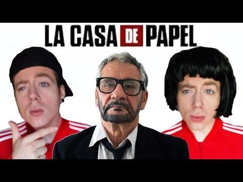 LA CASA DE PAPEL CON TURROS | PARODIA