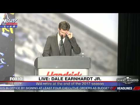 SAYING GOODBYE: Dale Earnhardt Jr. Announces Retirement (FNN)