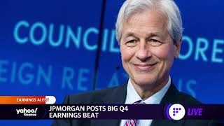 JPMorgan posts big Q4 earnings beat