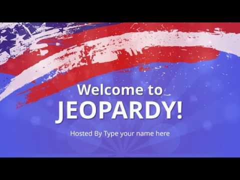 Jeopardy PowerPoint Template - SlideModel